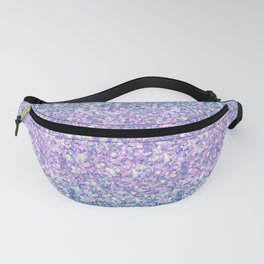 Blue & Lilac Mermaid Glitter Ombre Fanny Pack