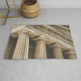 Federal Hall, New York photography, architecture, building, Hasselblad, Fine art Rug