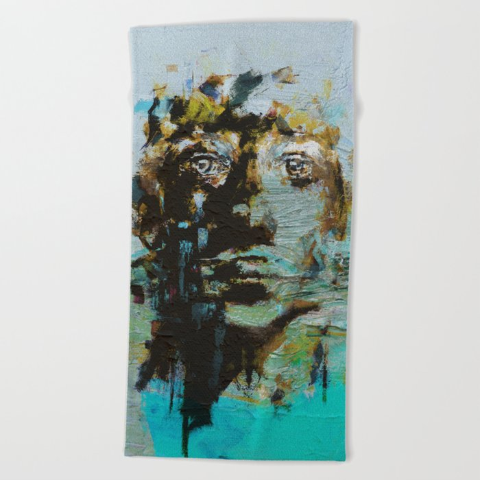 The Human Race 5 Beach Towel
