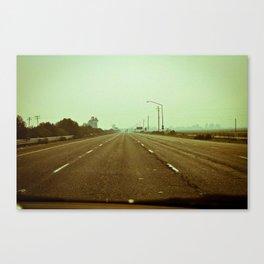 Cracked Highway - California Canvas Print