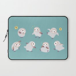 Baby Barn Owls Laptop Sleeve