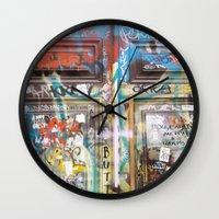 door Wall Clocks featuring DOOR by  ECOLARTE
