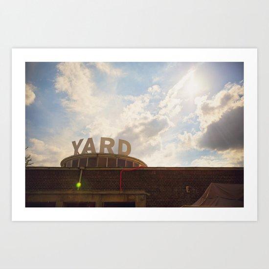 YARD Art Print