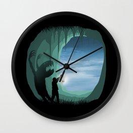 Magic cave Wall Clock