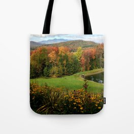 Warren Vermont Foliage Tote Bag