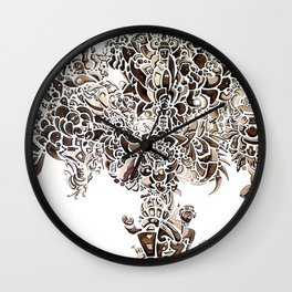 Lifetree Wall Clock