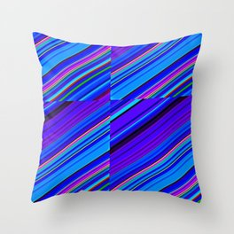 Re-Created Cross No. 7 by Robert S. Lee Throw Pillow