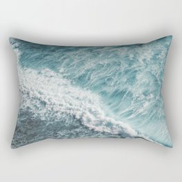 Saltwater Feelings Ocean Surf Rectangular Pillow