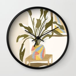 The Plant Room Wall Clock