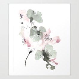 Cherry Blosson Art Print