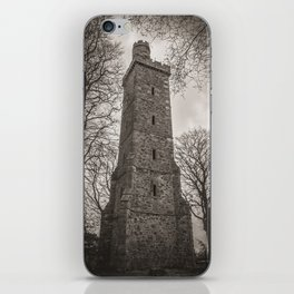 Corstorphine Hill Tower iPhone Skin