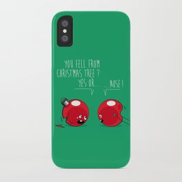 WHO NOSE ? iPhone Case
