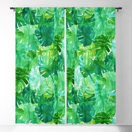 Welcome to the Jungle Palm Blackout Curtain