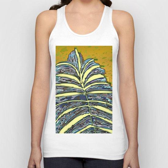Palm Leaf Fosil 2 / Nature 13-12-16 Unisex Tank Top
