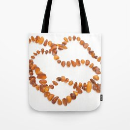 beads with amber Tote Bag