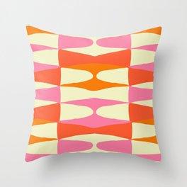 Zaha Sixties Throw Pillow