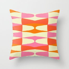 Zaha Sixties Throw Pillow