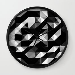 Triangular Deconstructionism v2.0 Wall Clock