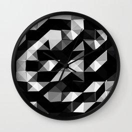 Triangular Deconstructionism v2.0 Wall Clock