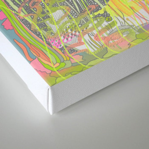 Sink Deeper Canvas Print