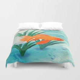 The Goldfish Duvet Cover