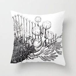sea plants Throw Pillow