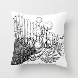 sea plants Throw Pillow