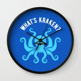 What's Kraken? Wall Clock