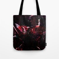 dark souls Tote Bags featuring SOULS by La Belle Noire
