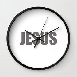 Jesus Cross Religion #society6 #decor #buyart #artprint Wall Clock
