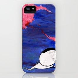 Moe Hawking iPhone Case