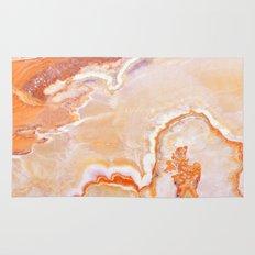 Peach Onyx Marble Rug