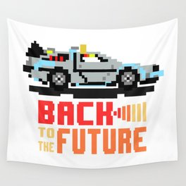 Back to the future: Delorean Wall Tapestry