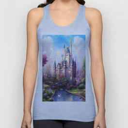FAIRY FANTASY CASTLE Unisex Tank Top