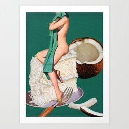 Vanilla Art Print