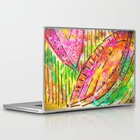 dot Laptop & iPad Skins featuring dot dot by Kras Arts - Fly Me To The Moon