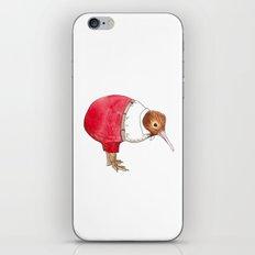 Kiwi in suit iPhone & iPod Skin