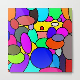 Smarties Galore Metal Print