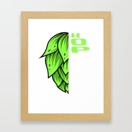 Hoptimist Craft Beer Beer Consumer Ipa Beer Microbrewing Framed Art Print