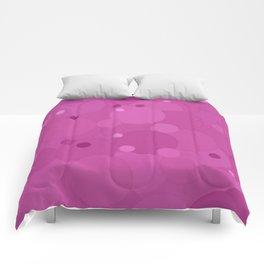Rosebud Bubble Dot Color Accent Comforters