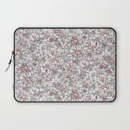 Busy Day in Spring Apple Garden Laptop Sleeve