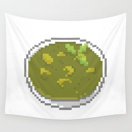 Green Curry Wall Tapestry