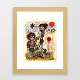 Bodacious Cowboys Framed Art Print