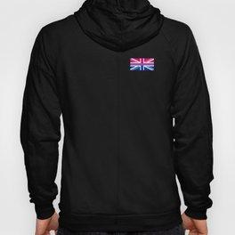 Gay Pride LGBT Bisexual Bi GB UK Union Jack Flag design Hoody