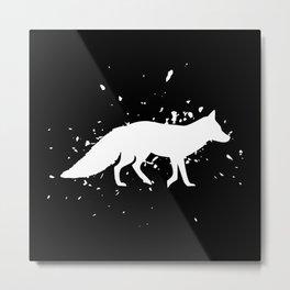 Fox - Graphic Fashion Metal Print