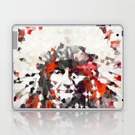 Modern Red Indian Chief - Sharon Cummings Laptop & iPad Skin