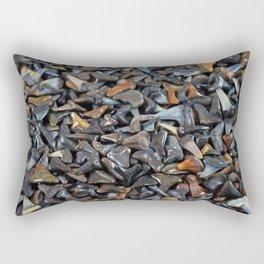 Florida - Fossil Shark Teeth Rectangular Pillow
