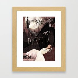 Dracula Framed Art Print