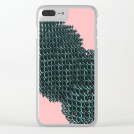 Voxels Clear iPhone Case
