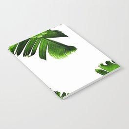 Green banana leaf Notebook